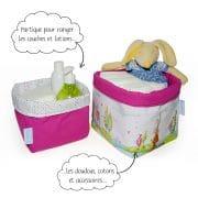 Panier de toilette Mathilde.B