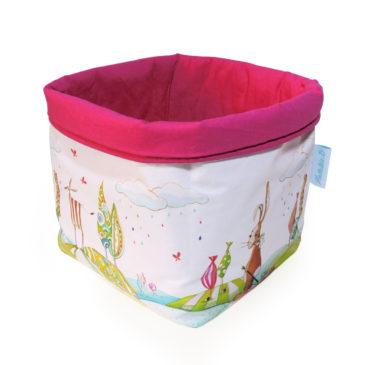 Panier de toilette «Valentin le lapin»