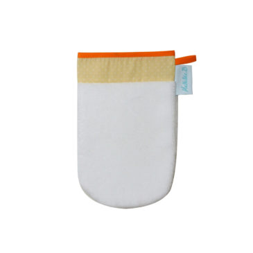 Gant de toilette éponge bambou. Made in France