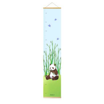 Toise panda. Illustraton Mathilde B. Fabrication française